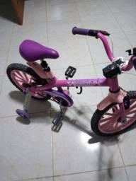 Título do anúncio: Bicicleta Infantil ARO 16. Top Girl