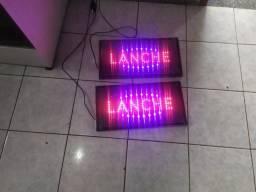 Vendo 2 placas de LED
