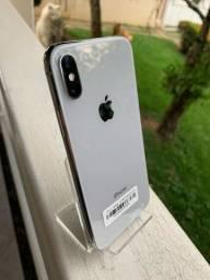 Título do anúncio: iPhone X branco vitrine