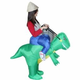 Fantasia Dinossauro inflável