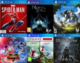 Título do anúncio: Jogos PS4 Aluguel - Digital