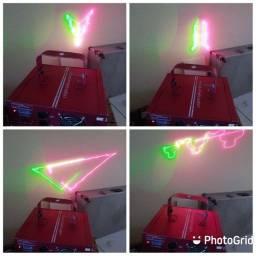 Laser de festa profissional 100 reais