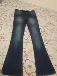 Calça jeans de gestante