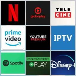 Netflix Globoplay Telecine Amazon prime