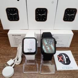 Relogio Smartwatch IWO W46 + Troca Foto Full