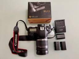 Título do anúncio: Maquina fotográfica Canon 7D com lente Canon nova EFS 18-200 + acessórios