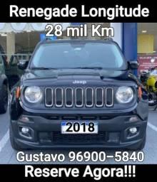 Renegade 2018 Gnv 27 mil km Longitude