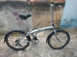 Bicicleta blitz FIT aro 24 a dobrável mais confortável