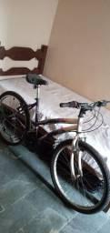 Bicicleta track 18 machadada aro 24