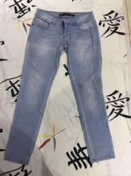 Calça jeans marca Blue Steel - Tam 40