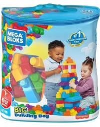 Super saco de blocos com 80peças
