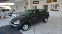 Clio sedan 1.6 expression 2007 completo