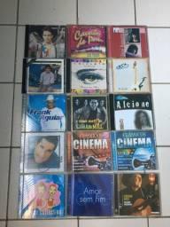 Lote com 55 cds