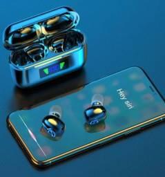 Fone de ouvido sem fio Bluetooth 5.0 Tws airdots