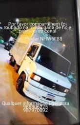 Caminhão roubado Mercedes