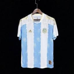 Camisa Argentina Homenagem a Maradona 21/22