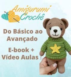 Amigurumi Crochê, Curso Completo - Aprenda Amigurumi Crochê do Zero
