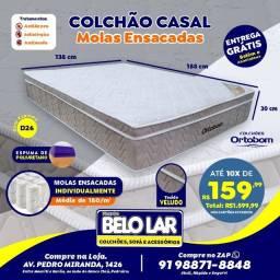 Colchão Ortobom Molas Ensacadas, Compre no zap *