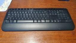 Teclado sem fio Microsoft keyboard 2000