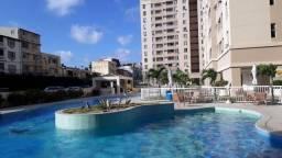 Apartamento para Venda em Salvador, Boca do Rio, 2 dormitórios, 1 suíte, 2 banheiros, 1 va