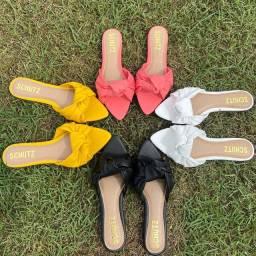 Salto, muli, rasteira, sandália de todos os tipos com material top de linha!