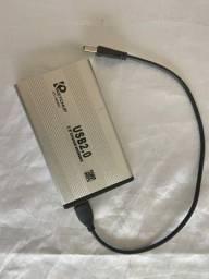 Leitor externo de hd ou ssd via USB
