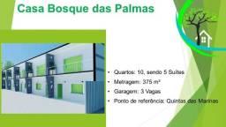 residencial dentro do condomínio bosque das palmas - R$ 450 mil
