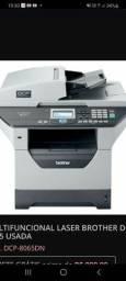 Título do anúncio: Impressora Multifuncional Brother Dcp-8065