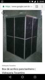 Promoção por tempo limitado box em acrilico
