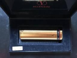 Relíquia Isqueiro Valentino original em ouro 18K