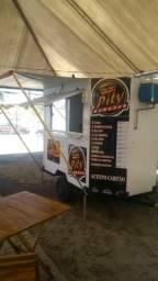 Food truck-treiler de lanches