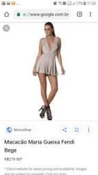 Vestido/macaquinho maria gueixa