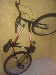 Bicicleta seminova / divido no cartão