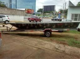 Canoa de 6 metro e carretinha, documentado R$6000,00 - 2011