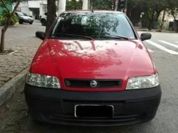 Fiat Palio 2005. 1.0 Flex. 2 Portas. Vermelho* AR - 2005