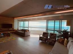 Apartamento Impecável na Beira-mar de Olinda, 3 suites, 160m2, lazer completo e 4 vagas