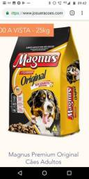Ração Magnus Premium 25 kg sem corantes ZAP *