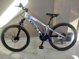 Bicicleta Vikingx Tuff 25 em estado de nova com nota fiscal. Aceito trocas