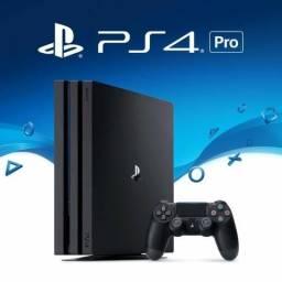 Console Playstation 4 Pro Novo Modelo Ps4 1tb 1 Tera Bytes 4k Sony