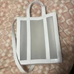 Bolsa Melissa tote bag branca, usado comprar usado  Piracicaba