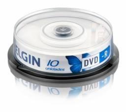 Mini DVD-R Gravável 1.4 gb/30 min 8x Tubo com 10und - Elgin