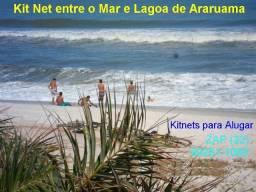Verão Sol e Mar, Kitnet em Arraial do Cabo-Rj-Temporada ou Fixo Anual