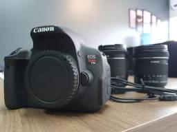 Câmera Canon T5i - com acessórios e lente grande angular!