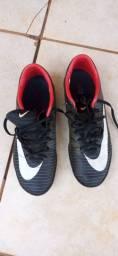 Chuteira socity Nike Mercurial, Tam 37