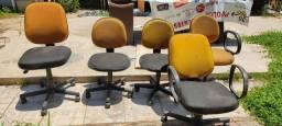 Jogo com 5 Cadeiras para escritório