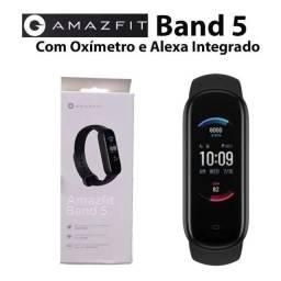 Amazfit Band 5 com Alexa e Oxímetro
