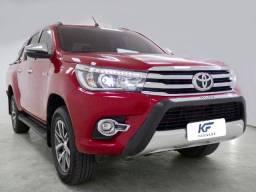 Toyota Hilux 2.8 SRX 4X4 Diesel Automática Vermelha Completa