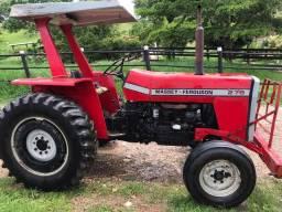 Trator Massey Ferguson 275 Simples + Implementos