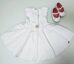 Vestido e Sapato de Festa (1 ano)