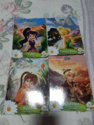 4 livros de histórias